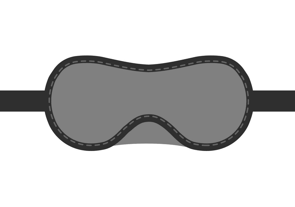 Sleep Mask clipart 1