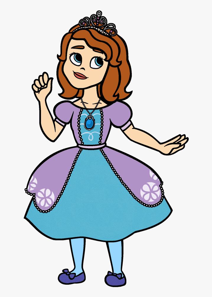 Sofia Disney Princess clipart 1