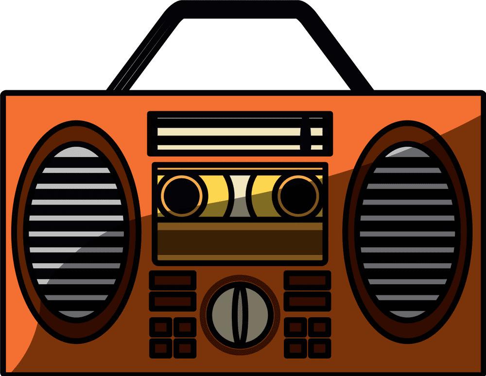 Stereo Radio clipart free