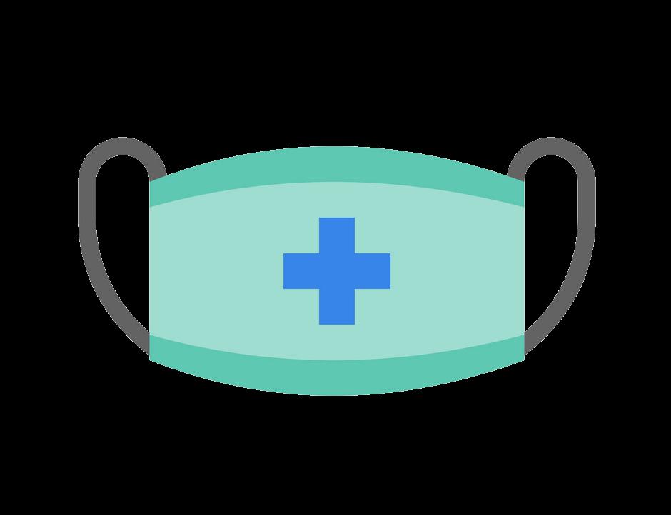 Surgical Mask clipart transparent