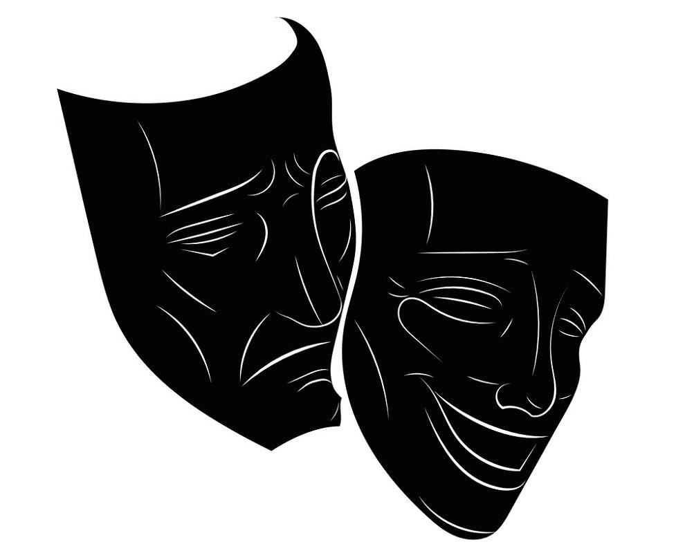 Theatre Mask clipart 3