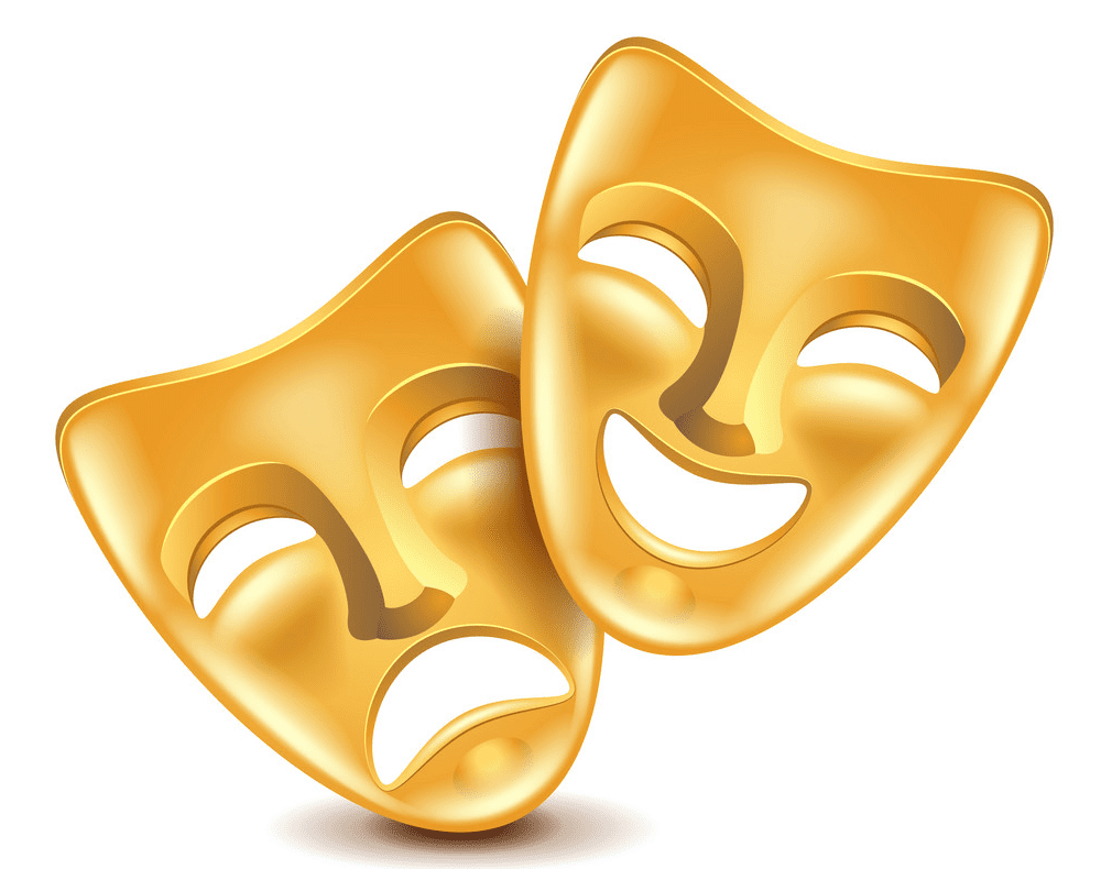 Theatre Mask clipart free