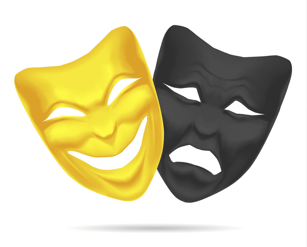Theatre Mask clipart png