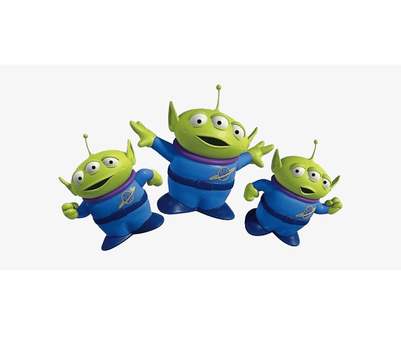 Alien Toy Story clipart image