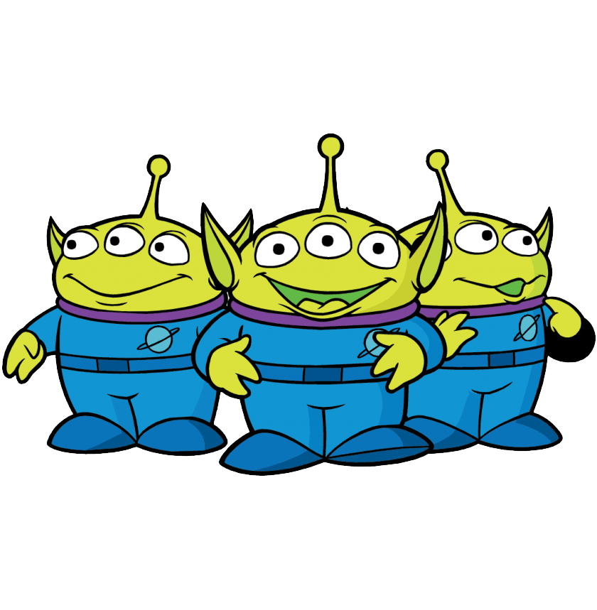 Alien Toy Story clipart
