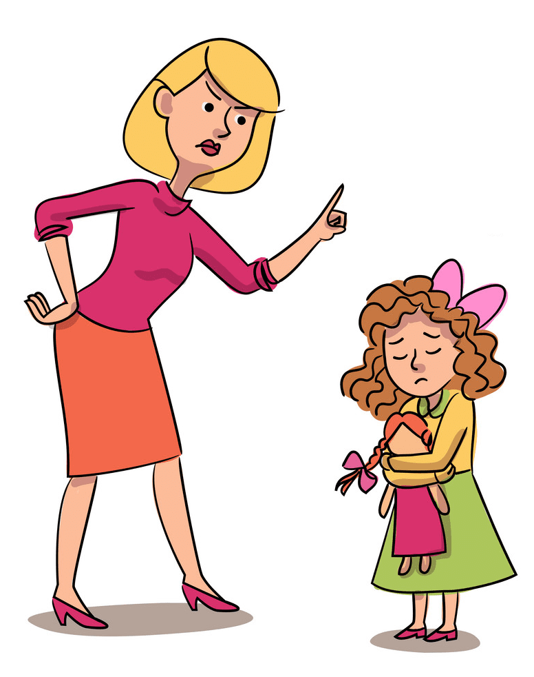 Angry Mom clipart 1