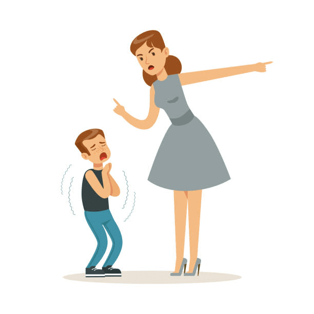 Angry Mom clipart 2