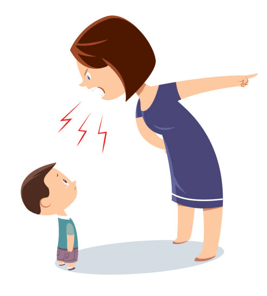 Angry Mom clipart 3