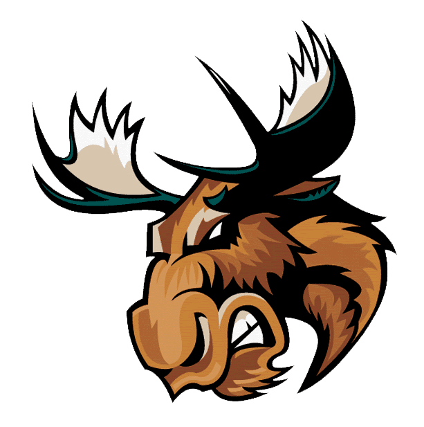 Angry Moose Head clipart png