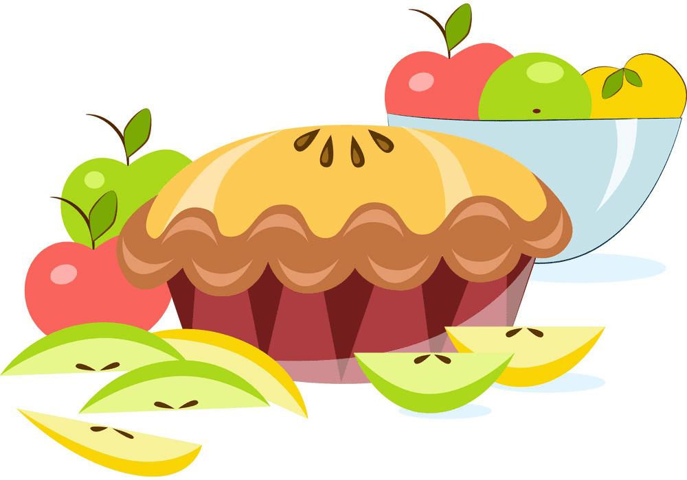 Apple Pie clipart free image
