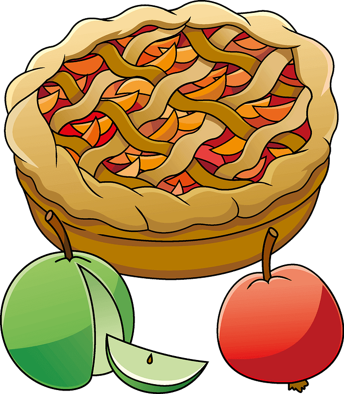 Apple Pie clipart transparent 3