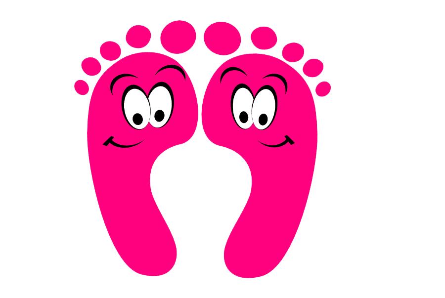 Baby Feet clipart 4