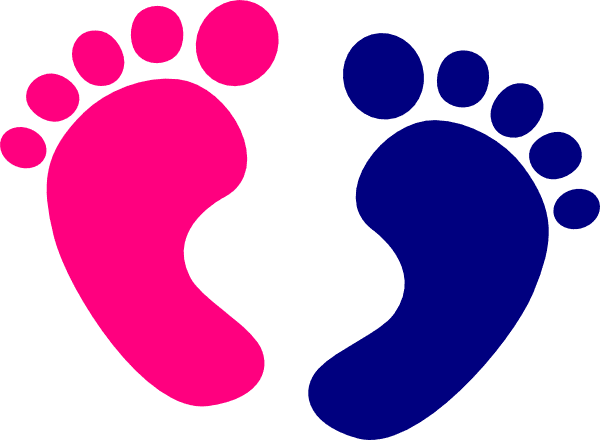 Baby Feet clipart free images