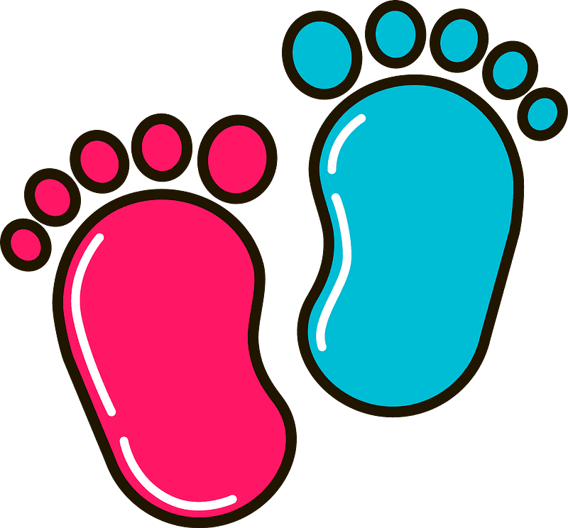 Baby Feet clipart transparent 4
