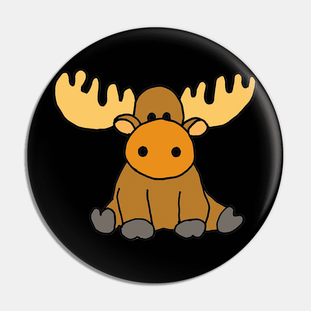 Baby Moose clipart