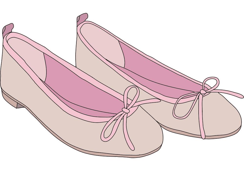 Ballet Shoes clipart download