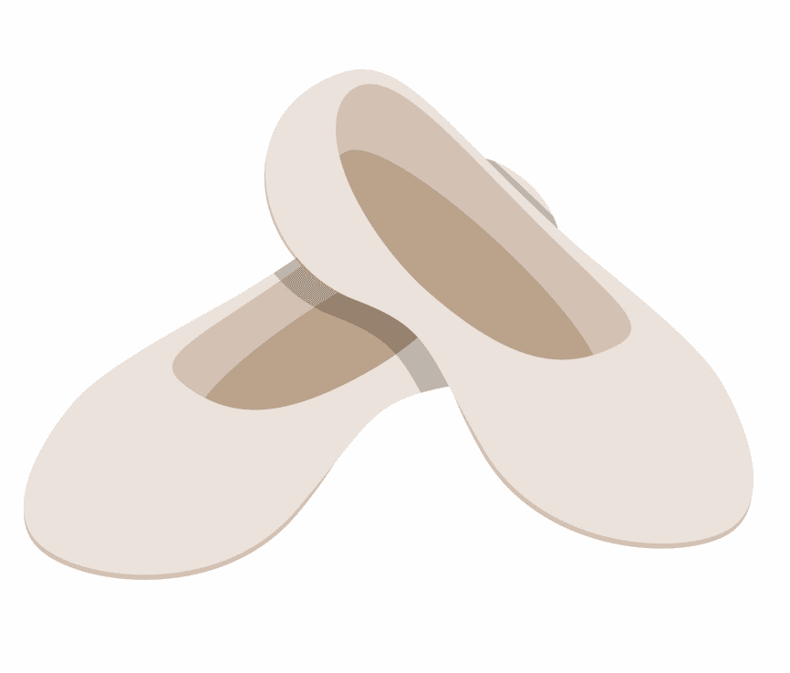 Ballet Shoes clipart free image
