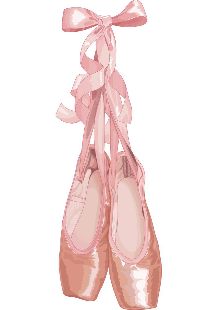 Ballet Shoes clipart free images
