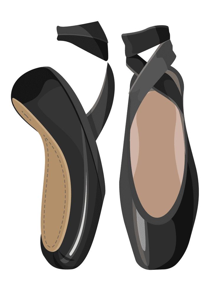 Ballet Shoes clipart image