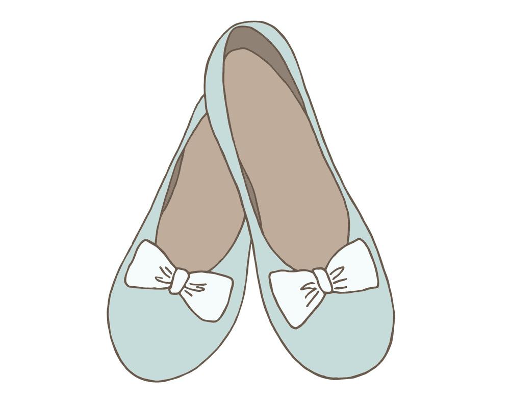 Ballet Shoes clipart images