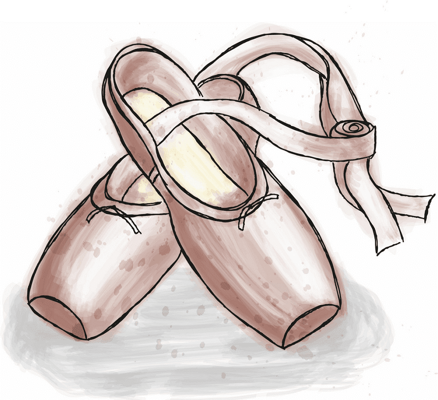 Ballet Shoes clipart png free