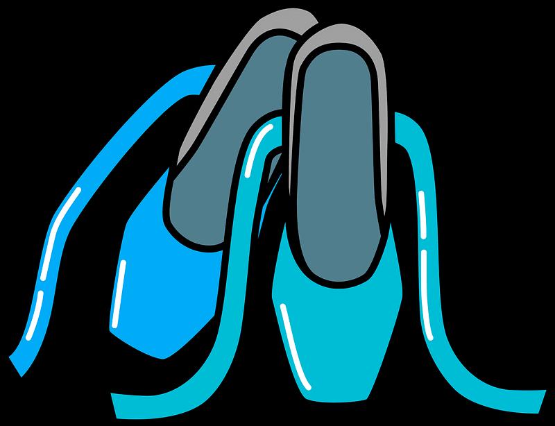 Ballet Shoes clipart transparent 1
