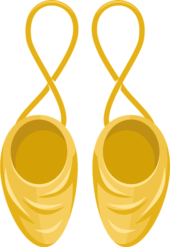 Ballet Shoes clipart transparent 2