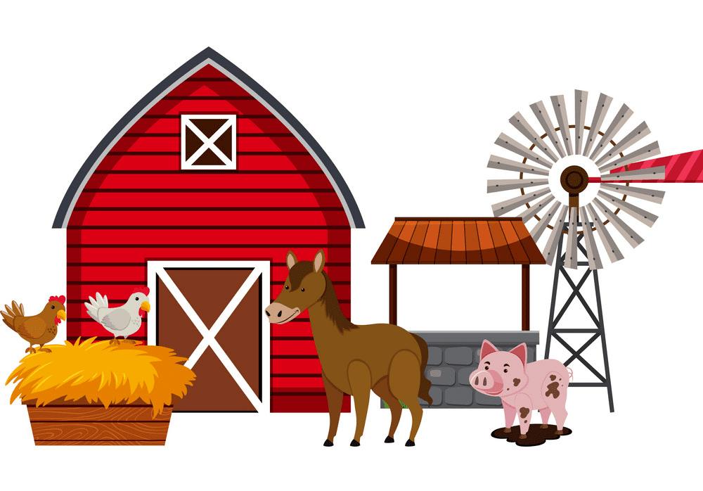 Barn Animals clipart free