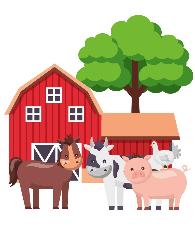 Barn Animals clipart image