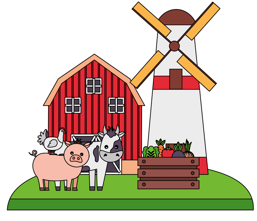 Barn Animals clipart images
