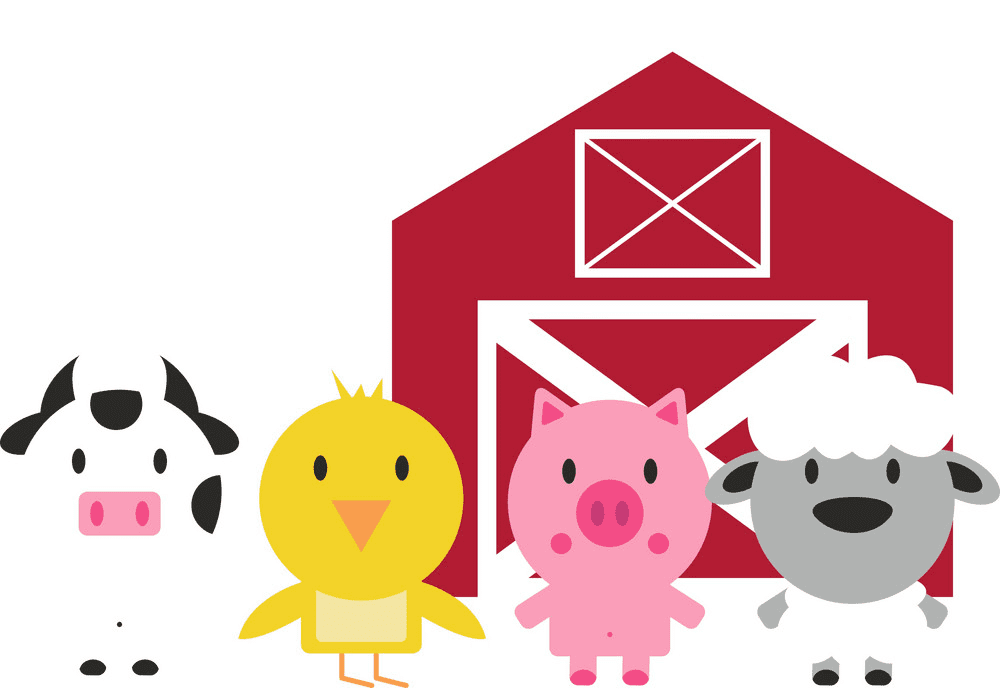 Barn Animals clipart png image