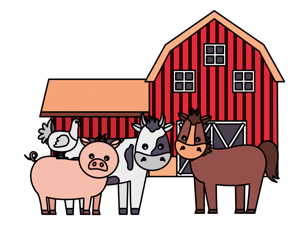 Barn Animals clipart png images