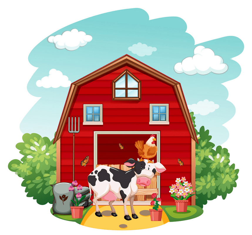 Barn Animals clipart png