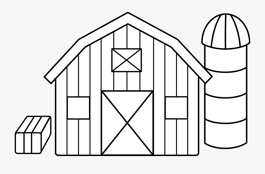 Barn Clipart Black and White png images