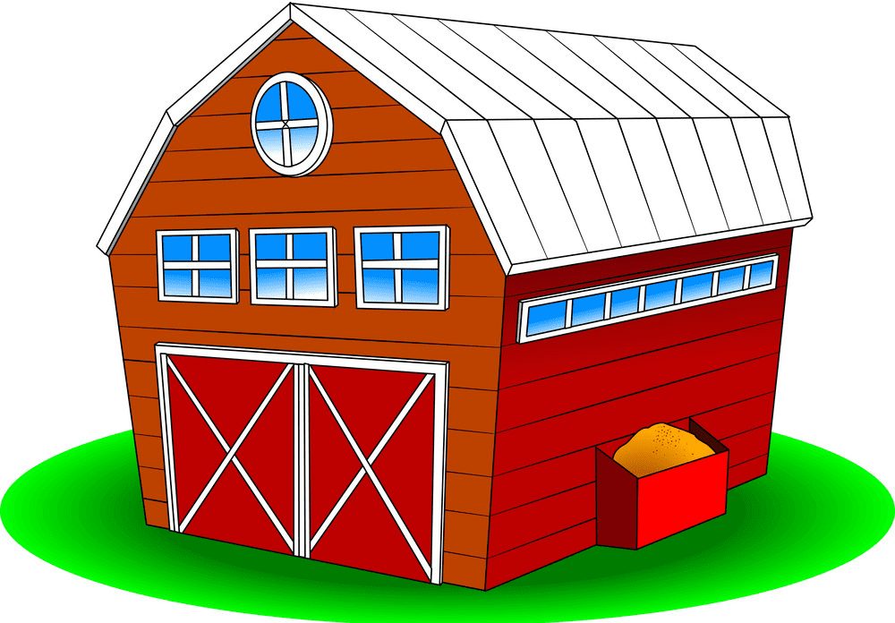 Barn clipart png 5