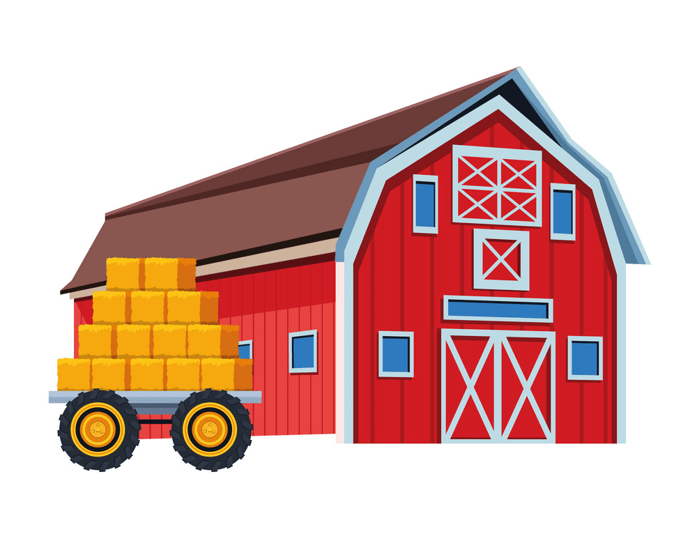 Barn clipart png 6