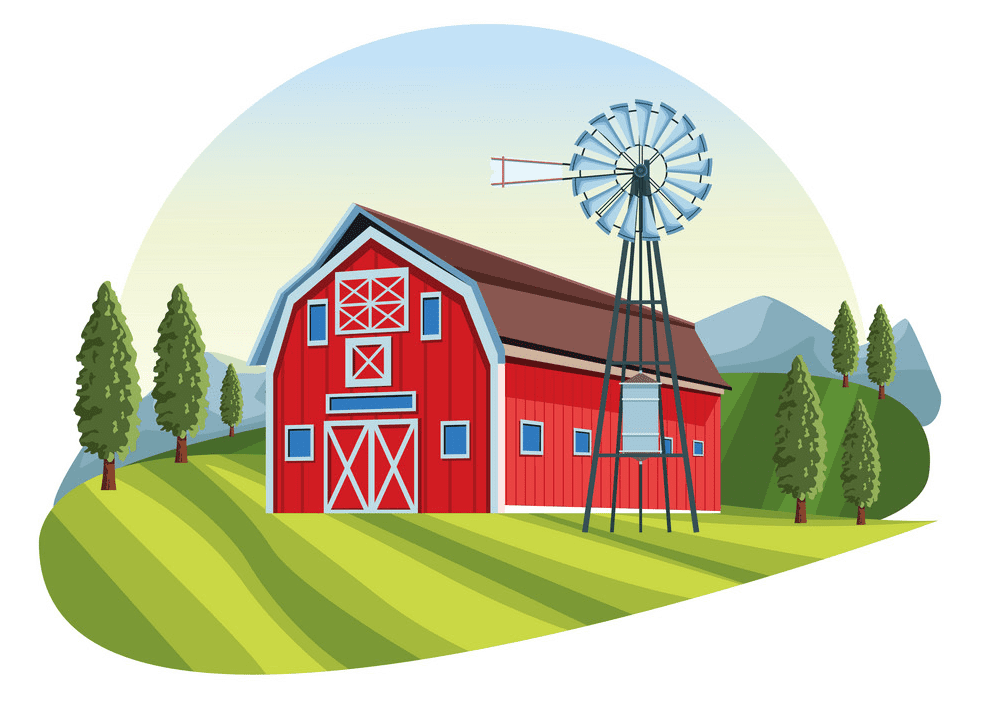Barn clipart png 8