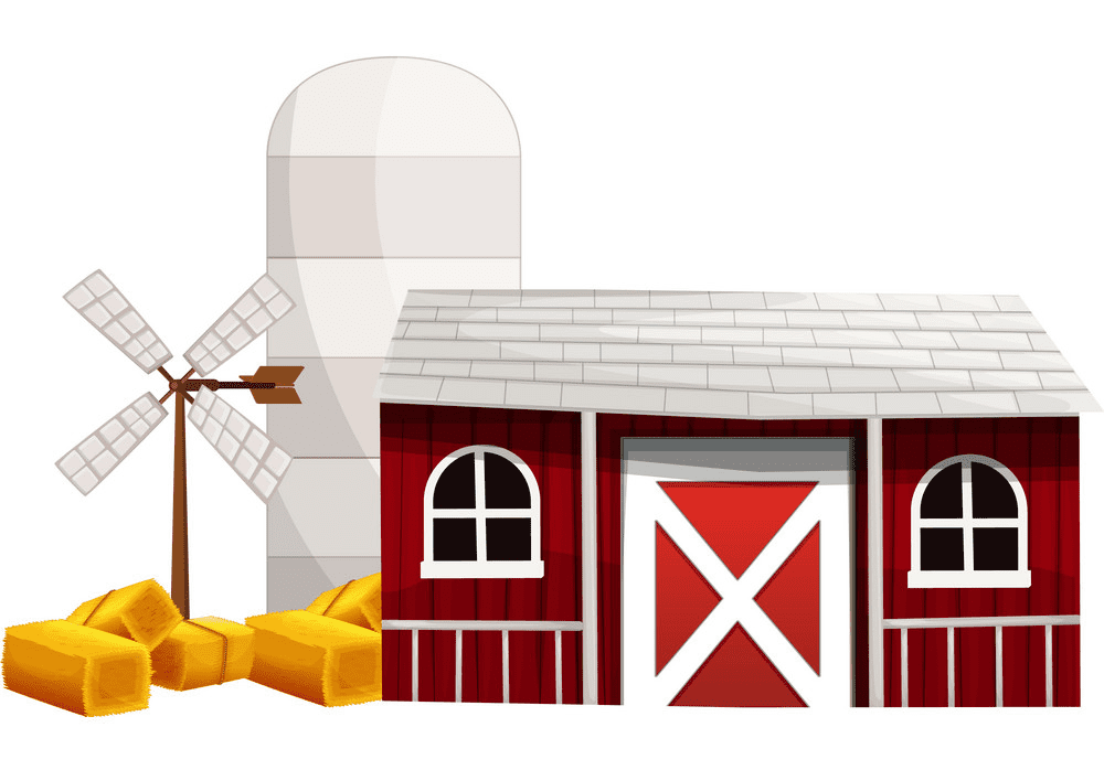 Barn clipart png 9