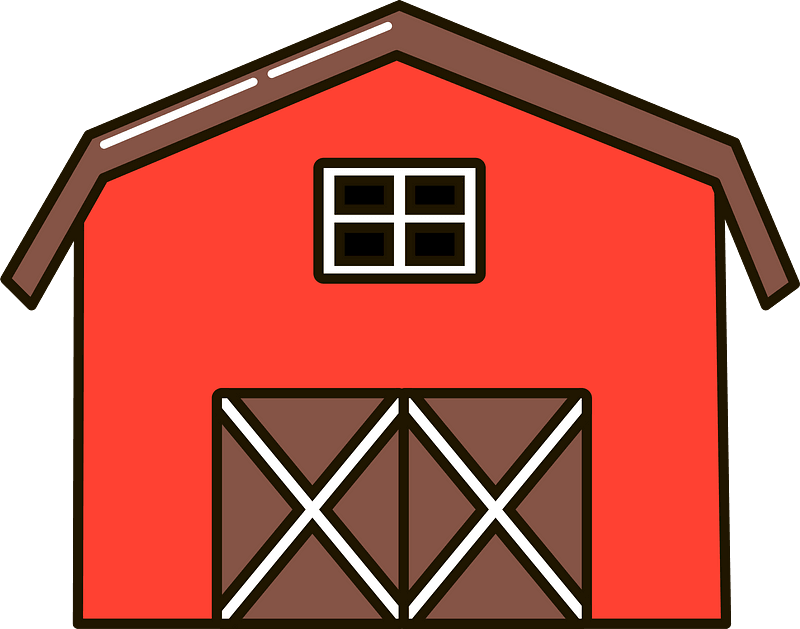 Barn clipart transparent png free