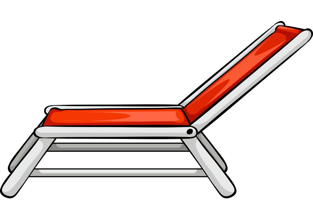 Beach Chair clipart 1