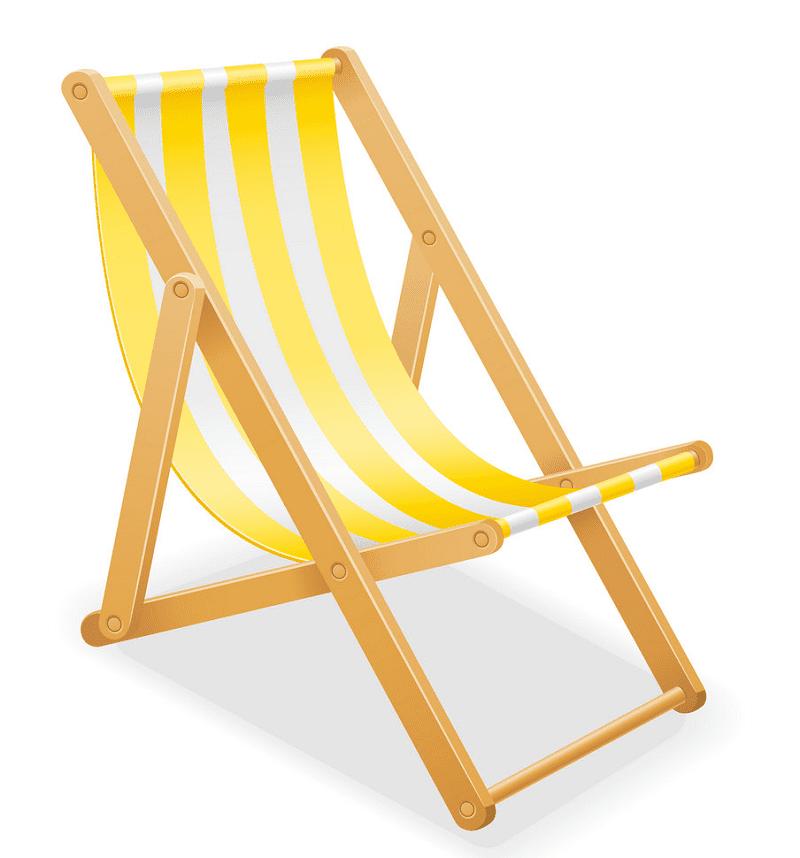 Beach Chair clipart 10