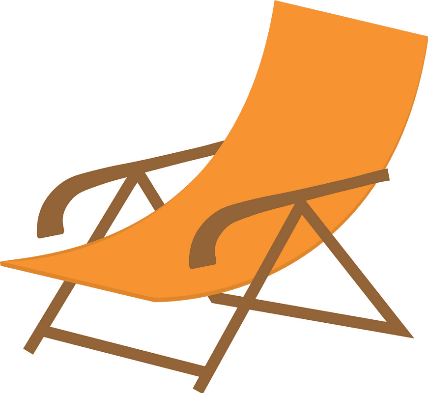 Beach Chair clipart 2