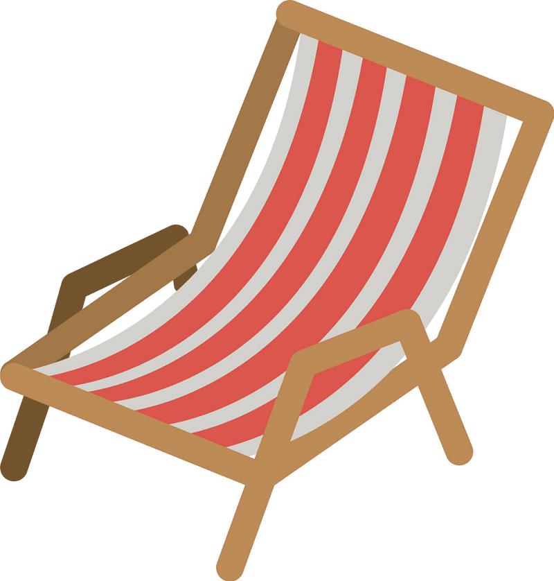 Beach Chair clipart 3