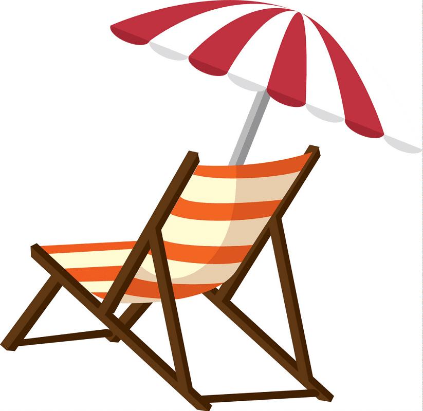 Beach Chair clipart 4