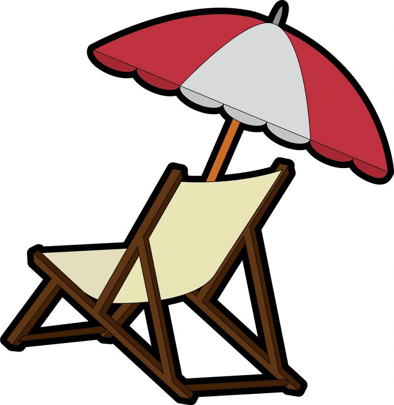 Beach Chair clipart 6