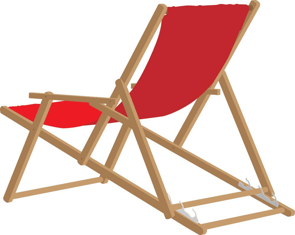 Beach Chair clipart 7