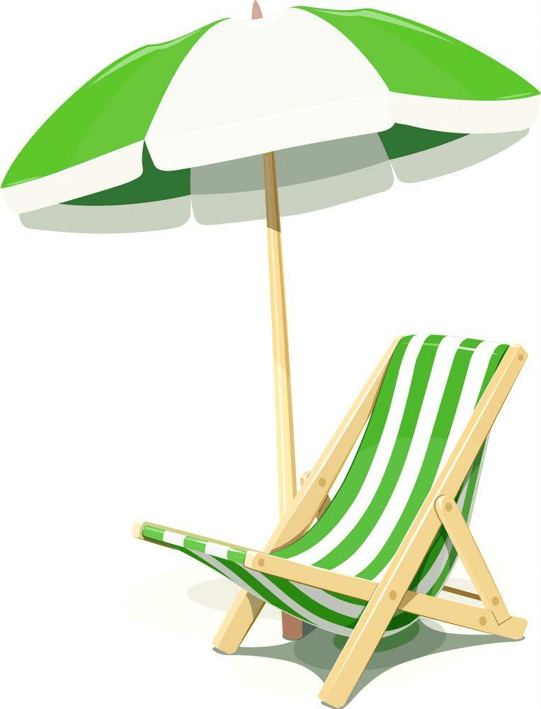 Beach Chair clipart 8