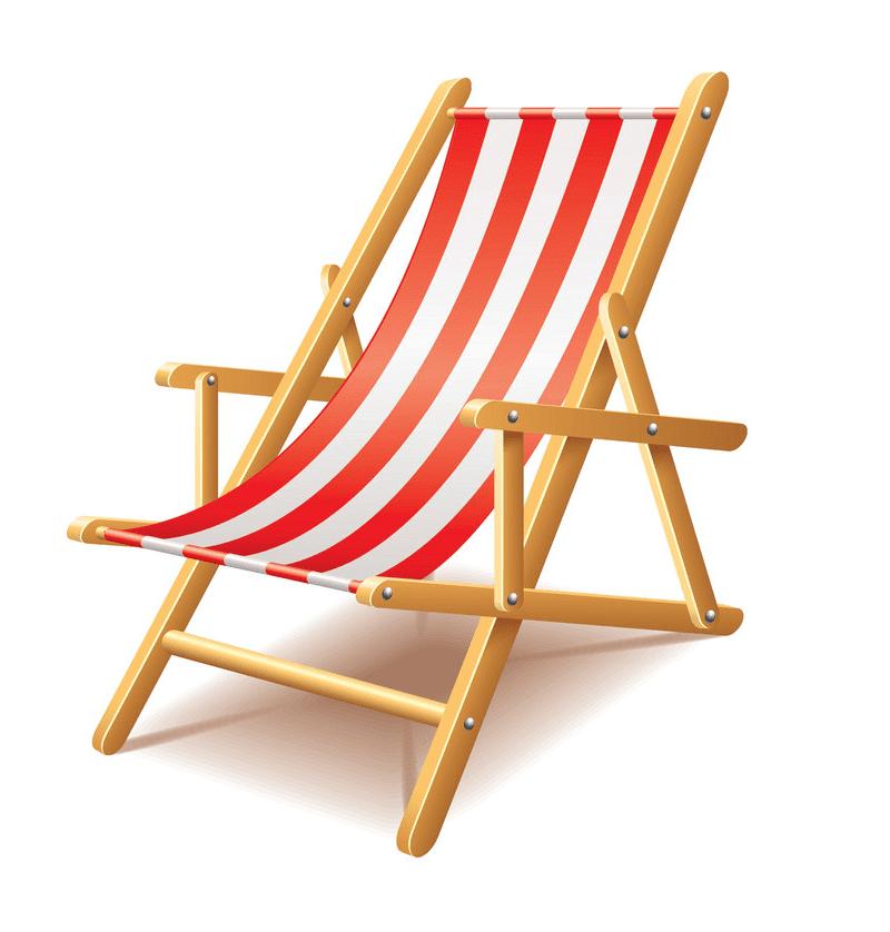 Beach Chair clipart 9