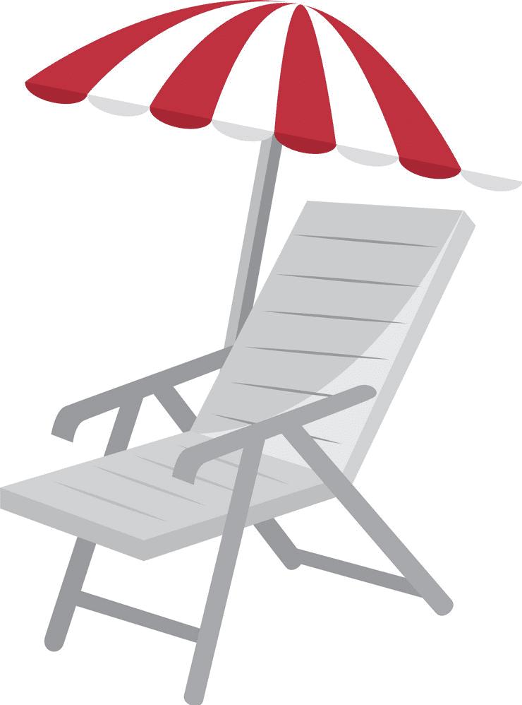 Beach Chair clipart free download