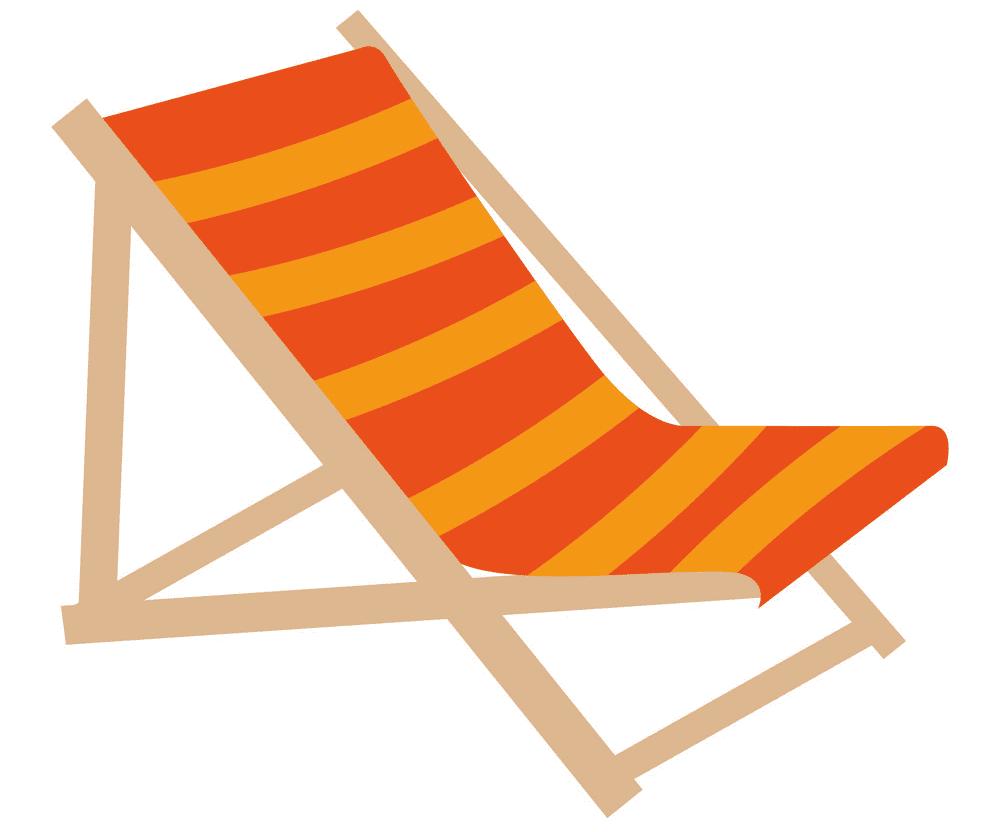 Beach Chair clipart images